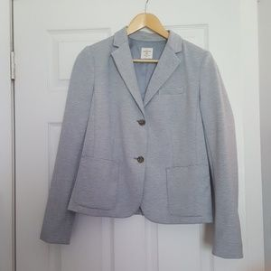 GAP Classic Academy Light Blue Striped Blazer